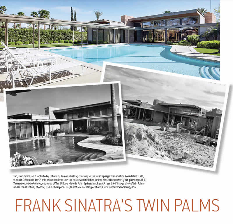 modernism week article on twin palms