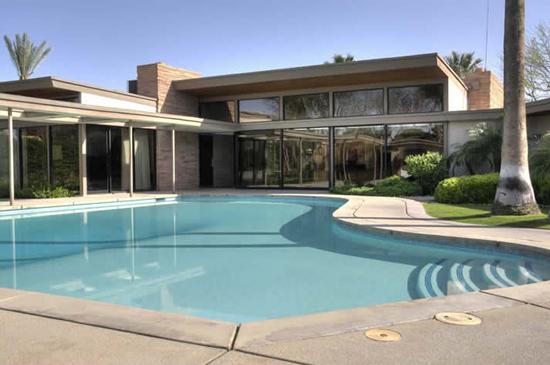 Pool Shot of SInatra House