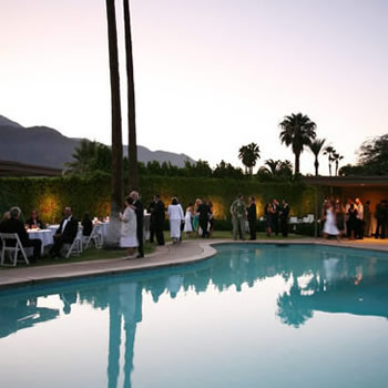 Palm Springs Weddings at Sinatra House