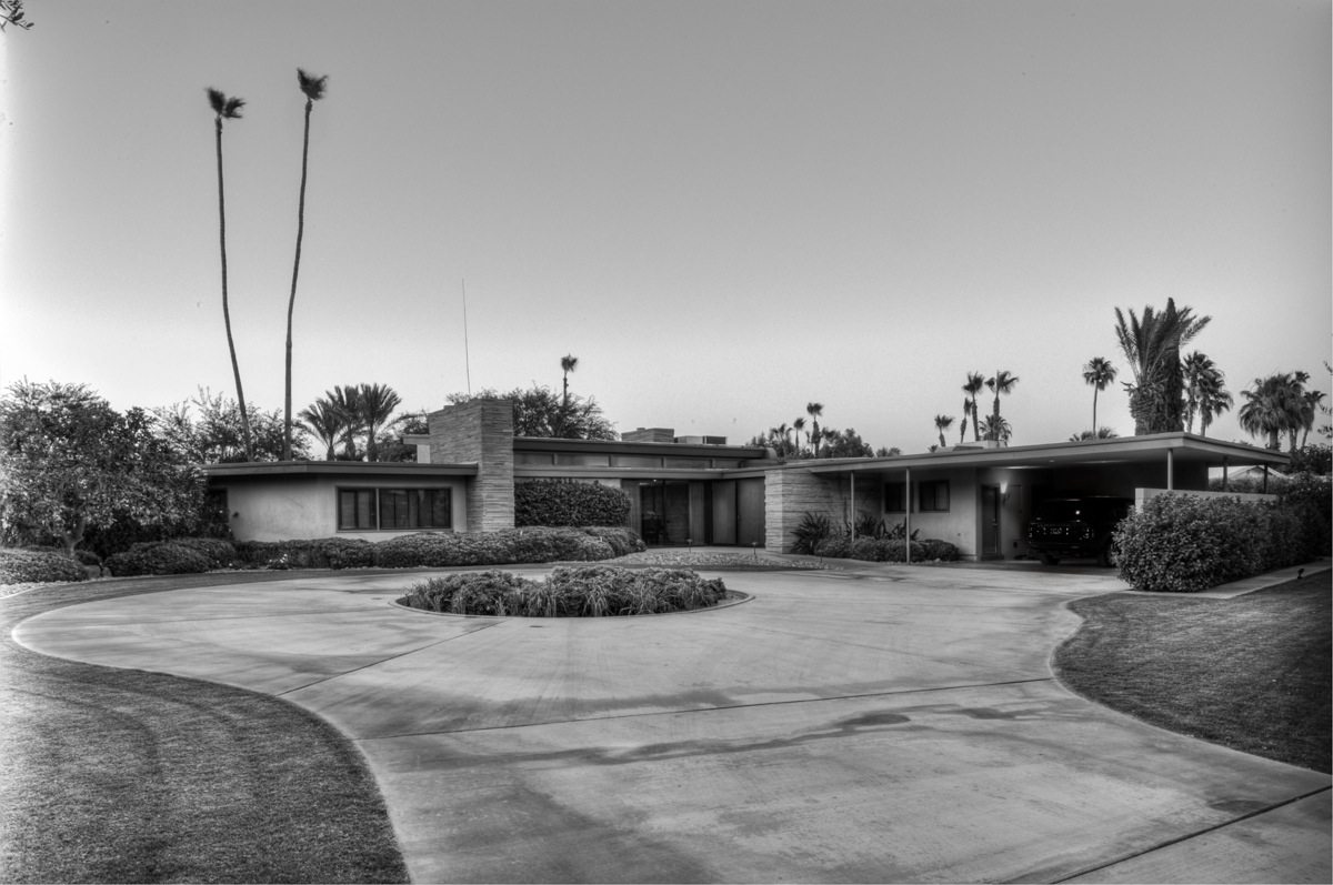 History for Twin palms estates palm springs